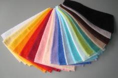 Farbauswahl Frotée
